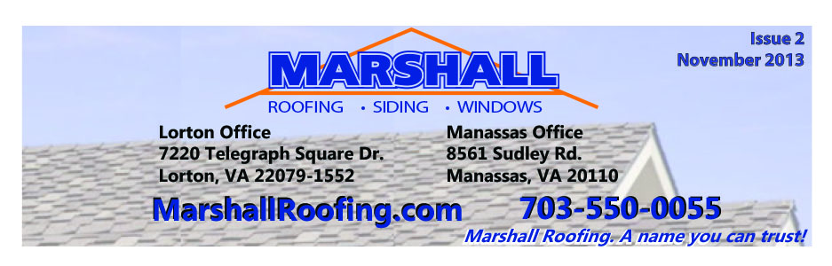 Northern Virginia Top Rated Roofing Siding Window