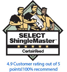 certainteed select shinglemaster rating