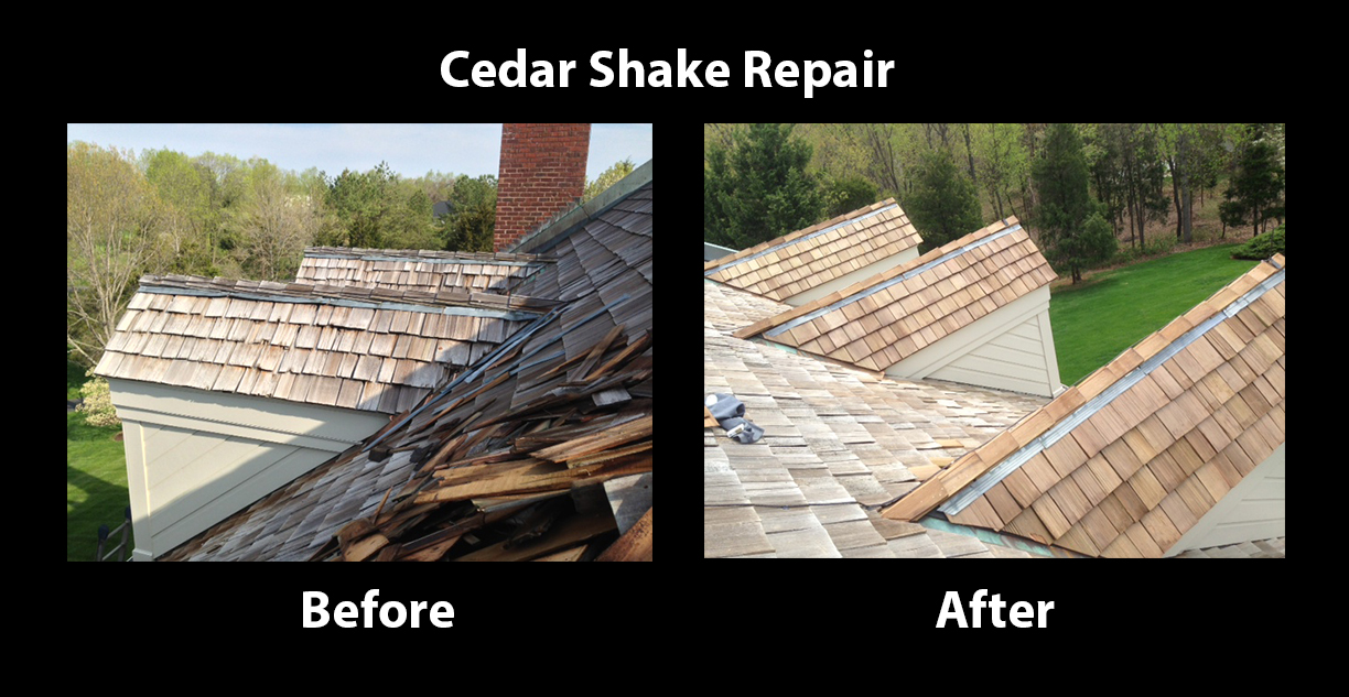 Northern Virginia Best Cedar Shake Repair And Replacement