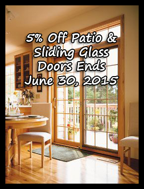 Pell and Paradigm Patio Door Discount Northern VA and Maryland