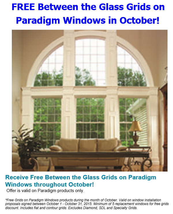 Savings: Free Window Grids