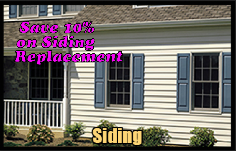 in the market for a new roof and siding give us a call for a free estimate if you sign a contract for a new roof and siding before september 30
