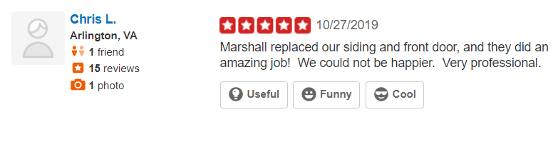 Reviews For Marshall Roofing Siding Amp Windows October 2019